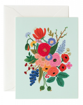 Garden Party Mint Card Rifle Paper