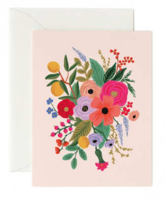 Garden Party Blush Card Rifle Paper