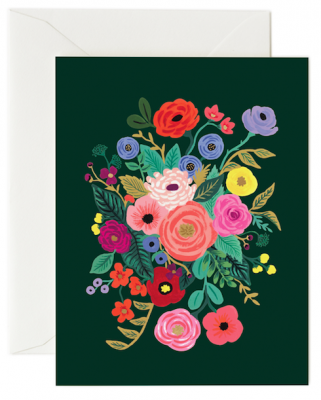 Garden Party Hunter Card Rifle Paper