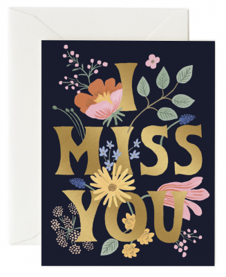 Miss You Card Rifle Paper Co