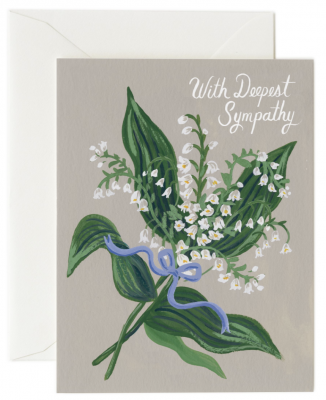 Lily Of The Valley Card Rifle