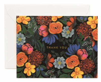 Odette Thank You Card - Rifle Paper Co.