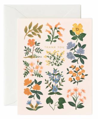 Wildwood Thank You Card - Greeting Card