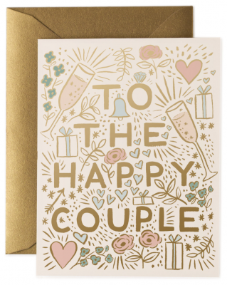To The Happy Couple Card Rifle