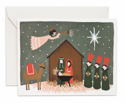 Nativity Card - Rifle Paper Co