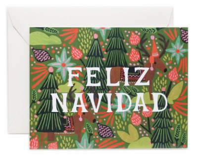 Feliz Navidad Card Rifle Paper Co