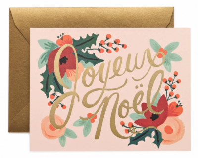 Joyeux Noel Card Rifle Paper Co
