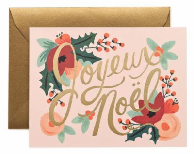Joyeux Noel Card Rifle Paper Co