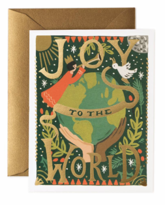 Joy to the World Card - Rifle Paper Co.
