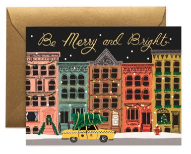 City Holiday Card Rifle Paper Co