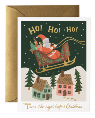 Christmas Delivery Card - Greeting Card