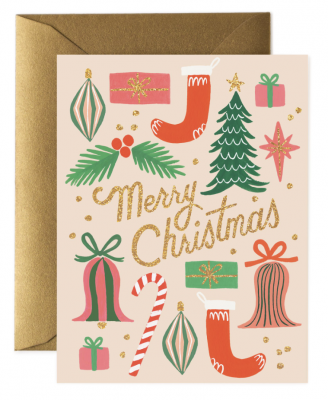 Deck The Halls Card Greeting Card