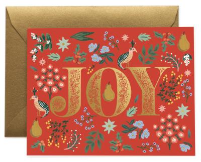 Partridge Card - Greeting Card