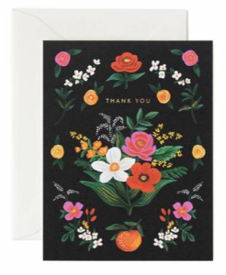 Orangerie Thank You Card - Rifle Paper Co.