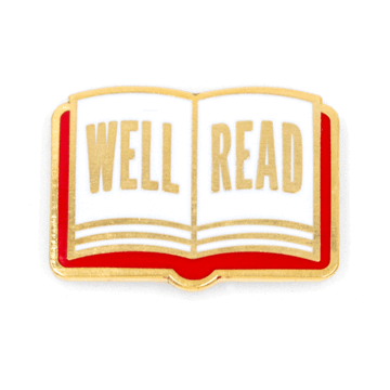 Well Read - Enamel Pin
