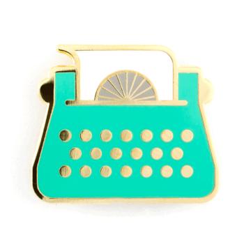 Typewriter - Enamel Pin