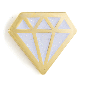 Diamond - Enamel Pin