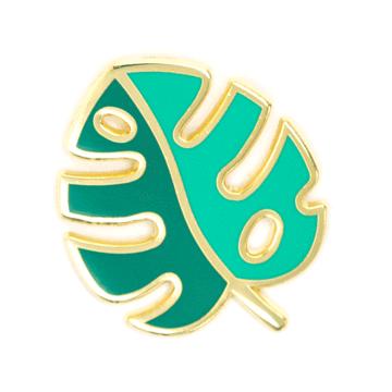 Monstera Leaf - Enamel Pin