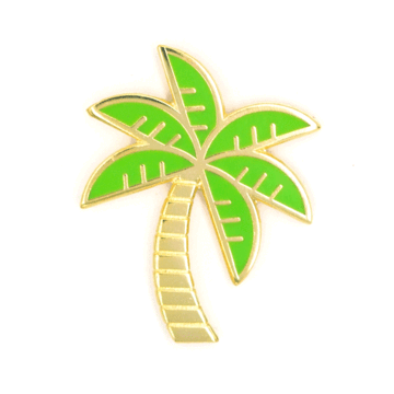 Palm Tree - Enamel Pin