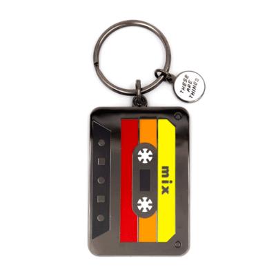 Mix Tape - Enamel Keychain