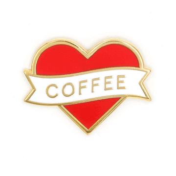 Heart Coffee - Enamel Pin