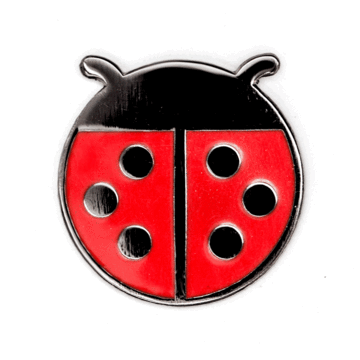 Ladybug - Enamel Pin