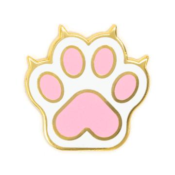 Cat Paw - Enamel Pin