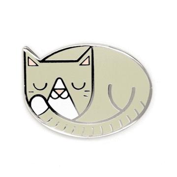 Cat Nap - Enamel Pin
