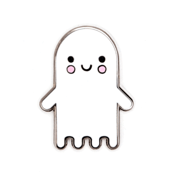 Ghost Baby - Enamel Pin