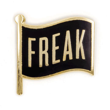 Freak Flag - Enamel Pin