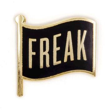 Freak Flag - Enamel Pin