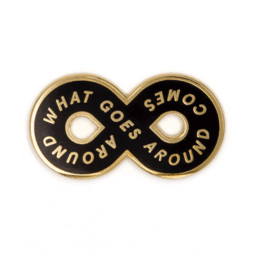 Karma Loop - Enamel Pin
