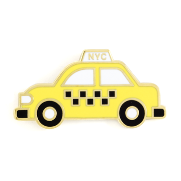 NYC Taxi - Enamel Pin