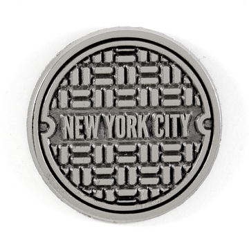NYC Sewer - Enamel Pin