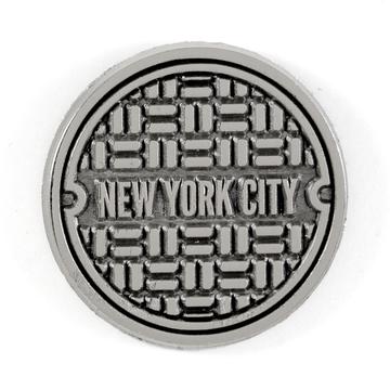 NYC Sewer - Enamel Pin