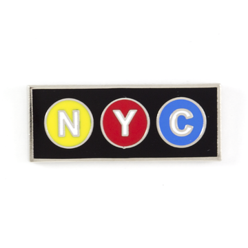 NYC Subway - Enamel Pin