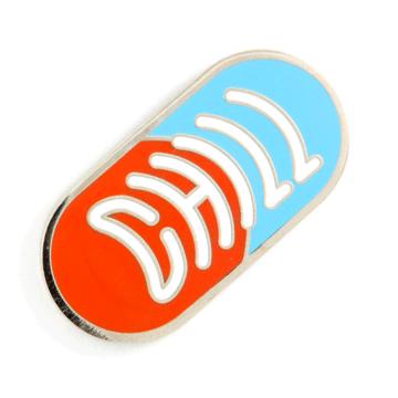 Chill Pill - Enamel Pin