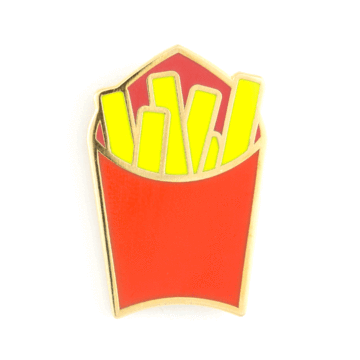 Fries - Enamel Pin