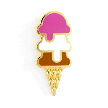 Ice Cream - Enamel Pin