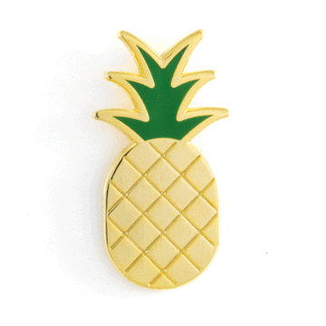 Pineapple - Enamel Pin