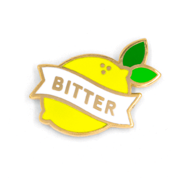Bitter Lemon - Enamel Pin