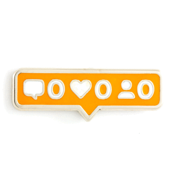 No Likes - Enamel Pin