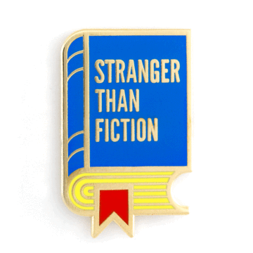Stranger Than Fiction - Enamel Pin