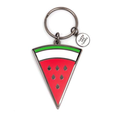 Watermelon - Enamel Keychain