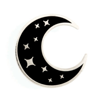 Crescent Moon - Enamel Pin