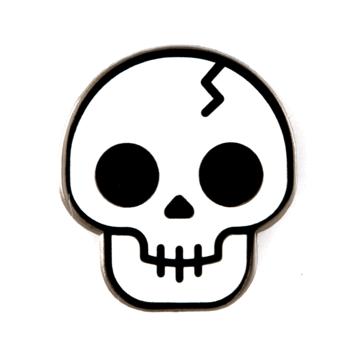 Skull - Enamel Pin