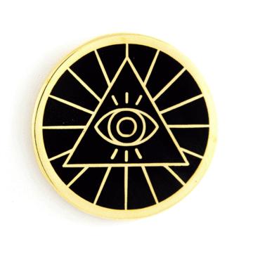 Illunminati - Enamel Pin