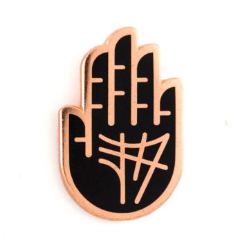 Palm Reader - Enamel Pin