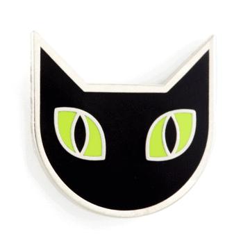 Black Cat - Enamel Pin