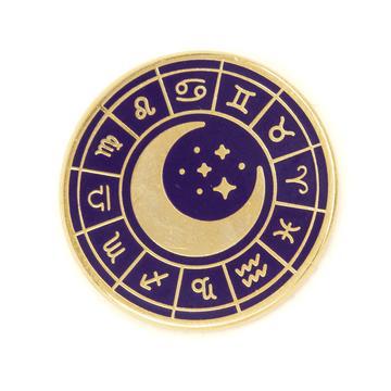 Zodiac Wheel - Enamel Pin